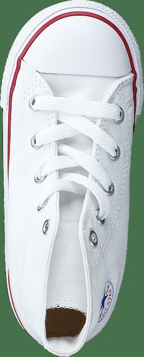 All Star Canvas-Hi Optical White