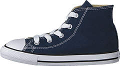 All Star Canvas-Hi Navy