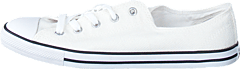 All Star Dainty-Ox White/White/Black