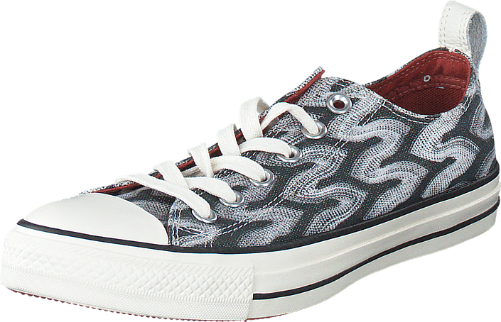 Converse - All Star Missoni-Ox Black/Auburn/Egret