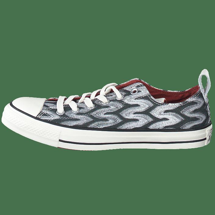 8a0495e2972 Buy Converse All Star Missoni-Ox Black/Auburn/Egret grey Shoes Online    FOOTWAY.co.uk