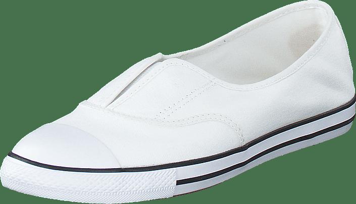 All Star Dainty Cove-Slip White /White/Black
