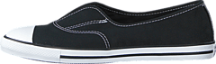 All Star Dainty Cove-Slip Black/Black/White