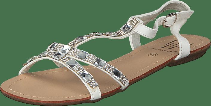 Sandaler Astypalaia Brune 54313 Wildflower Køb Og White 01 Online Sko 00 Tøfler 0fAf5qT