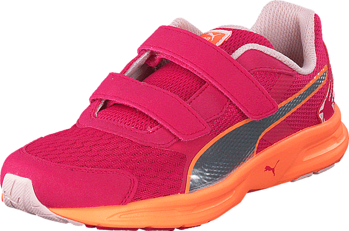 Puma - Descendant v3 V Kids Rose Red-Puma Silver