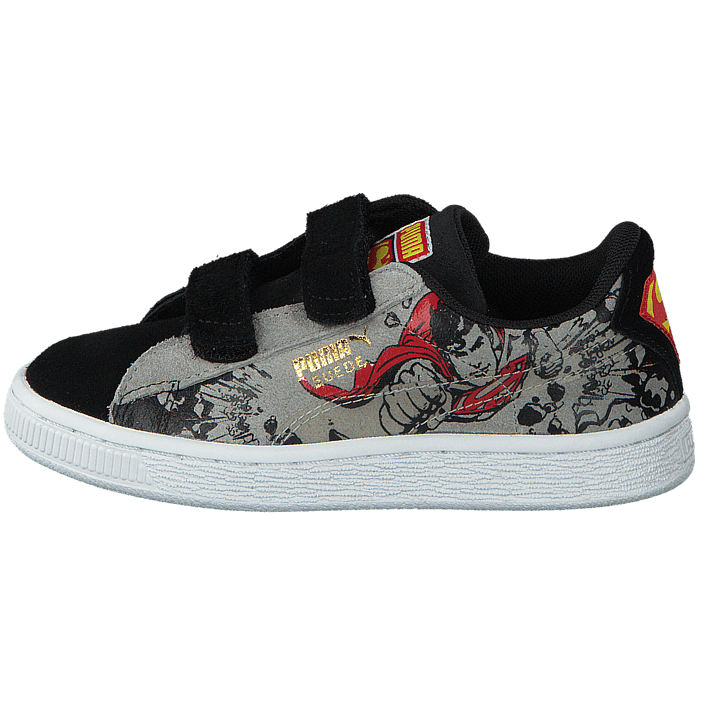 47057be5 Kup Puma Suede Superman 2 V Kids Black-Limestone Gray szare Buty Online |  FOOTWAY.pl