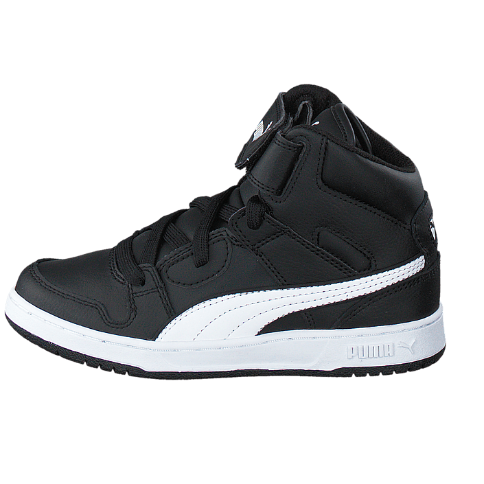 Puma Rebound Street L Jr Black White