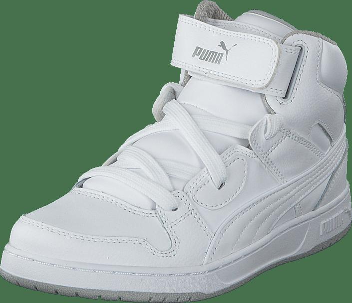 Puma Rebound Street L Jr White White