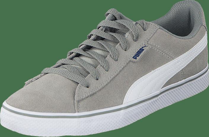 960b6a5bfb1d Buy Puma Puma 1948 Vulc Limestone Gray-White grey Shoes Online ...
