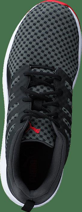Puma - Flare Black-White-High Risk Red