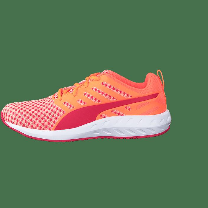 Peach Fluo Sportsko white Red Rosa Sko Wn's Online rose Flare Sneakers Kjøp Og Puma qpI4R