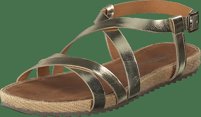 Kjøp 940 1 26 Online Sandaler Tamaris Tøfler Og 1 Sko Gold 28165 Beige rX6Tran