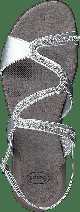 486074938588 Buy Scholl Linkol Silver grey Shoes Online