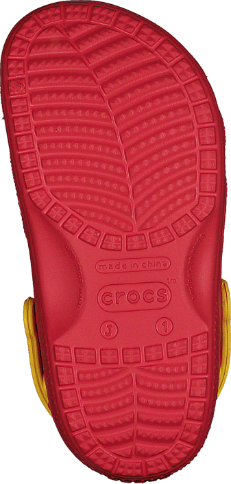Crocs - CC McQueen & Francesco Clog Flame/Yellow
