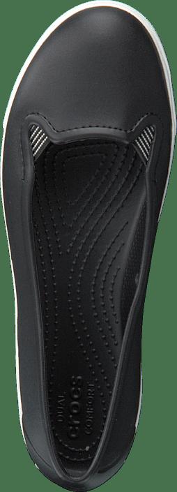 Crocs - CitiLane Flat W Black/White