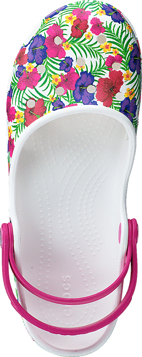 Crocs - Crocs Karin Clog W White/Floral