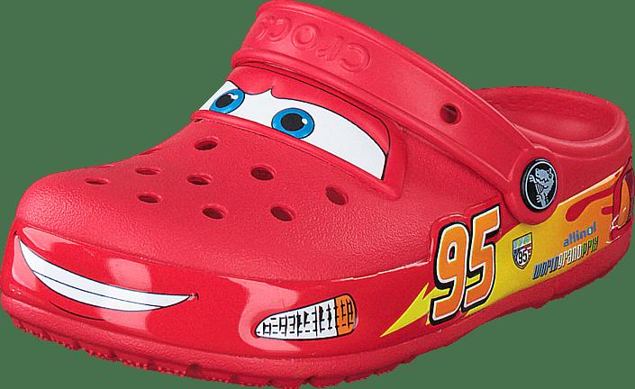 CrocsLights Cars Clog Red