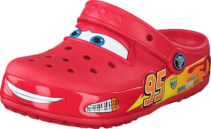 9ac48ab7c2c05 Buy Crocs CrocsLights Cars Clog Red red Shoes Online