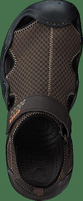 Kjøp Crocs Swiftwater Sandal M Espresso/espresso Sko Online