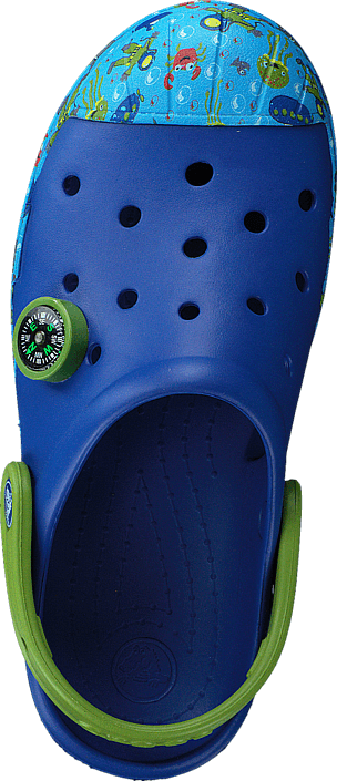 Crocs - Crocs Bump It Sea Life Clog K Cerulean Blue