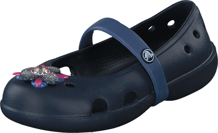 Keeley Springtime Flat PS Navy Bijou Blue