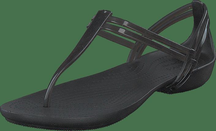b32a2b2830e5 Buy Crocs Crocs Isabella T-strap Black black Shoes Online