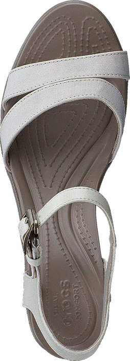 Grå W Leigh Crocs Wedge Højhælede Strap khaki Oatmeal Online Sko Og Køb Pumps Ankle 01 Ii 54529 Uqz15xUCY