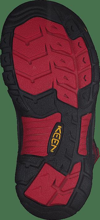 Keen - Newport H2-Kids Black/Racing Red Multi