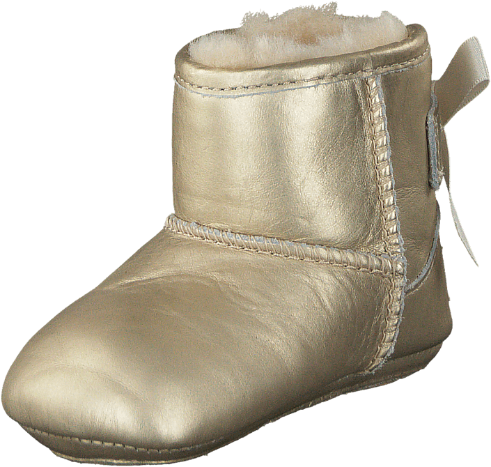 Jesse Bow Metallic Soft Gold