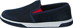 Groveton Slip On Navy Naturebuck