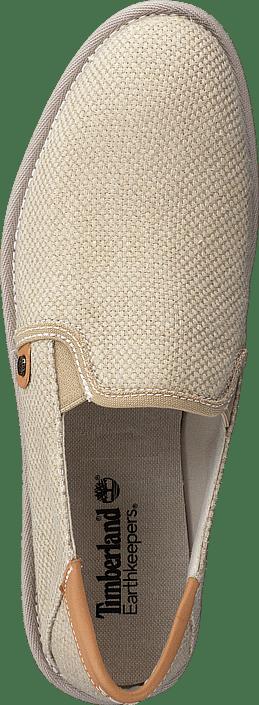 Timberland - City Shuffler Fabric Slip Tan Burlap