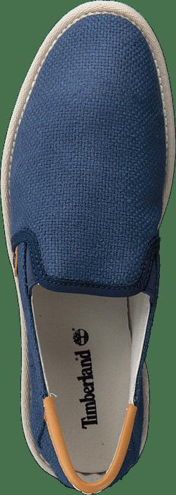 City Shuffler Fabric Slip Navy Burlap