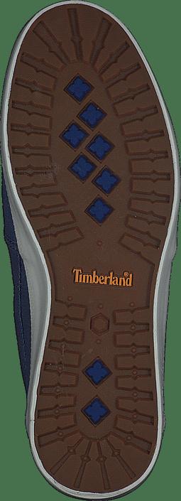 Timberland - Newport Bay Canvas Plain Blue/Vintage Indigo