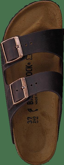 Arizona Slim Oiled  Leather Habana Brown