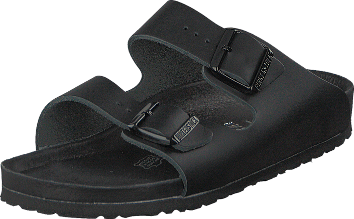 Birkenstock - Monterey Slim Natural Leather Black