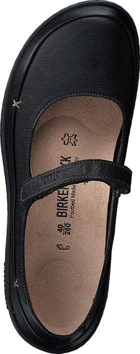 Iona Regular Natural Leather Black