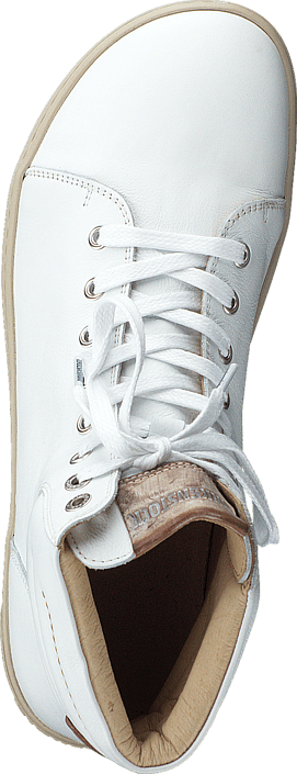 Birkenstock - Bartlett Natural Leather White