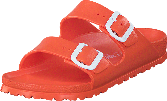 16a8b62625a93 Buy Birkenstock Arizona Slim EVA Scuba Coral red Shoes Online ...