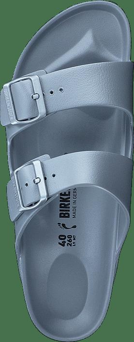 Birkenstock - Arizona Slim EVA Silver Metallic