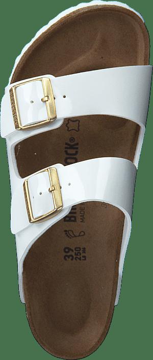 Birkenstock - Arizona Birko-Flor Patent White