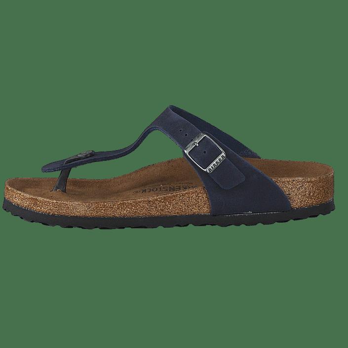 ae4b6241f7ca Buy Birkenstock Gizeh Microfiber Vegan Navy blue Shoes Online ...