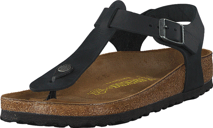 Birkenstock - Kairo Regular Oiled Leather Black
