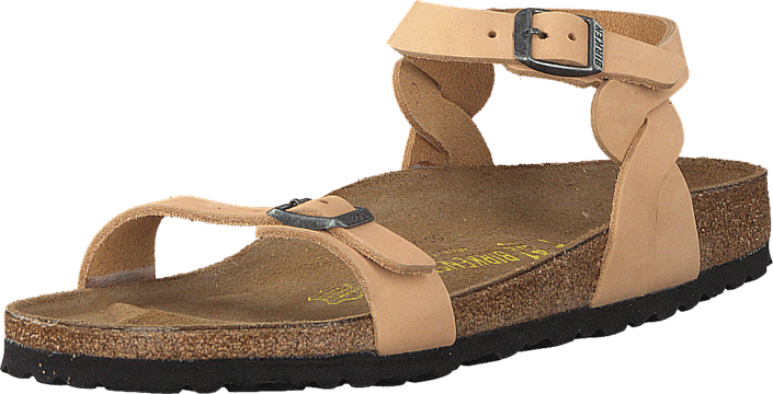 Birkenstock - Pali Slim Nubuck Leather Sand