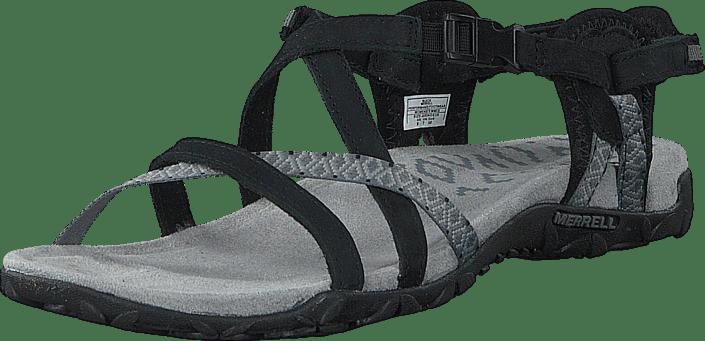 Sandaler Black Sko 02 Lattice 54696 Og Køb Ii Tøfler Online Sorte Merrell Terran qY8CxgwSI