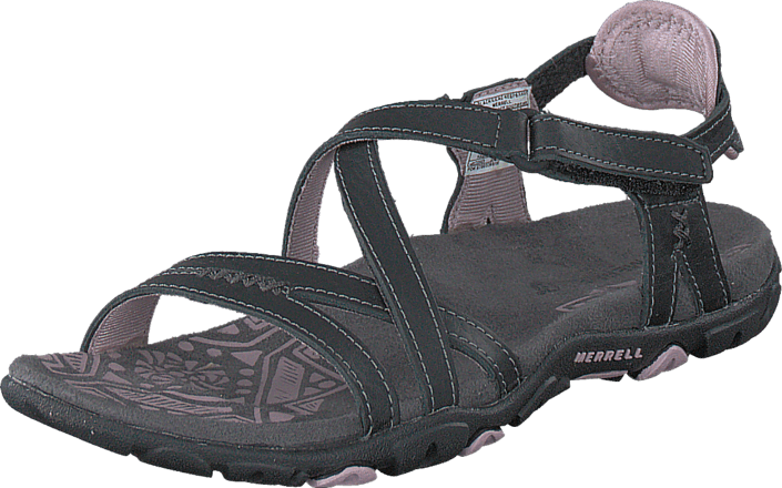 Buy Merrell Sandspur Rose Leather Black Grey Shoes Online