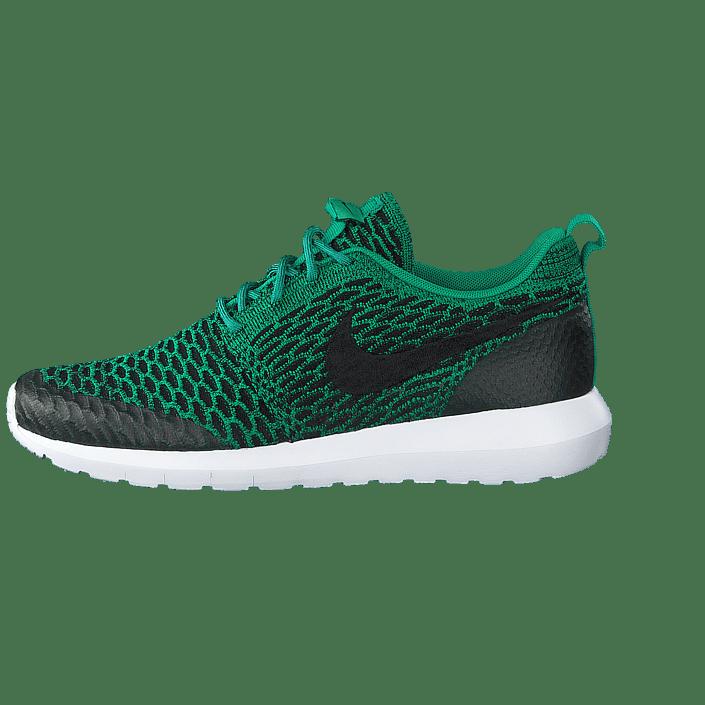 Nike Roshe Nm Flyknit Se Lucid GreenBlack White