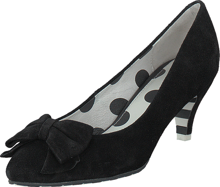 Lola Ramona - Kitten Black Suede