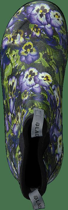 """Lacrosse - Hampton II - Women's 6"""" Print Purple Flower"""
