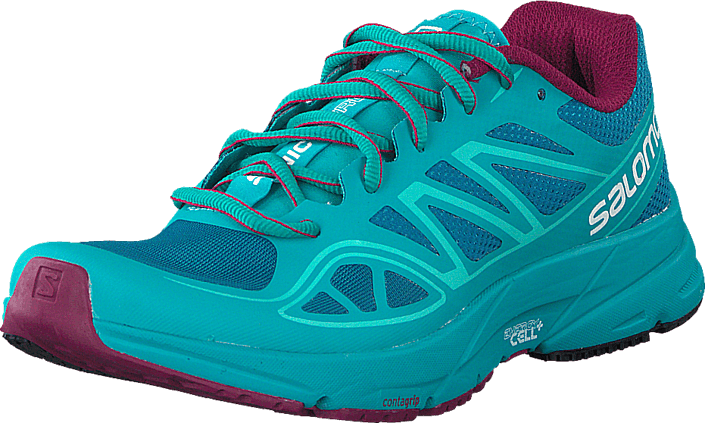b0289376e892 Buy Salomon Sonic Aero W Fog Blue Teal Blue  M turquoise Shoes ...