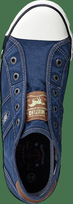 Jeansblau Blå Mustang Kjøp Sko 841 Online Blue Sneakers 1099401 Denim qwpWnWgX